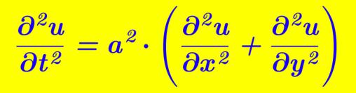 Equazione d onda imathematica for Studio di funzione a due variabili